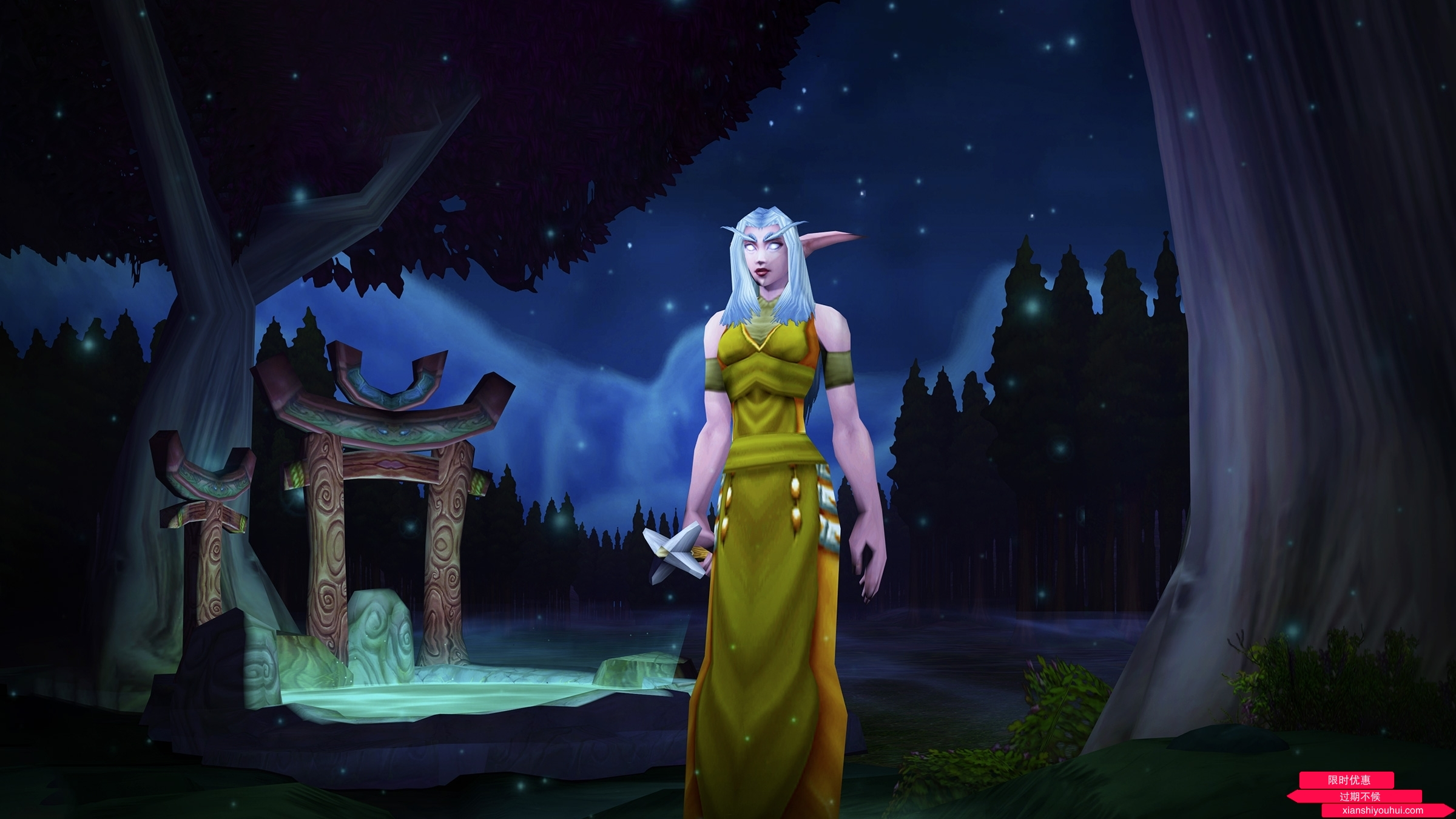 《魔兽世界》经典怀旧服角色名称预约现已开启!